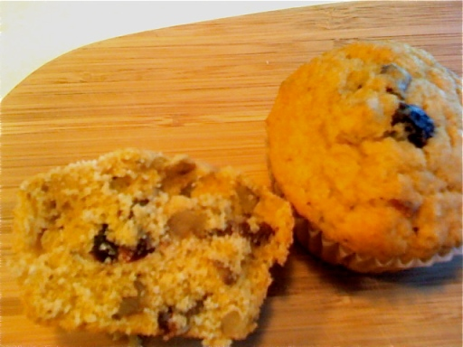 Cranberry Orange Walnut Muffins